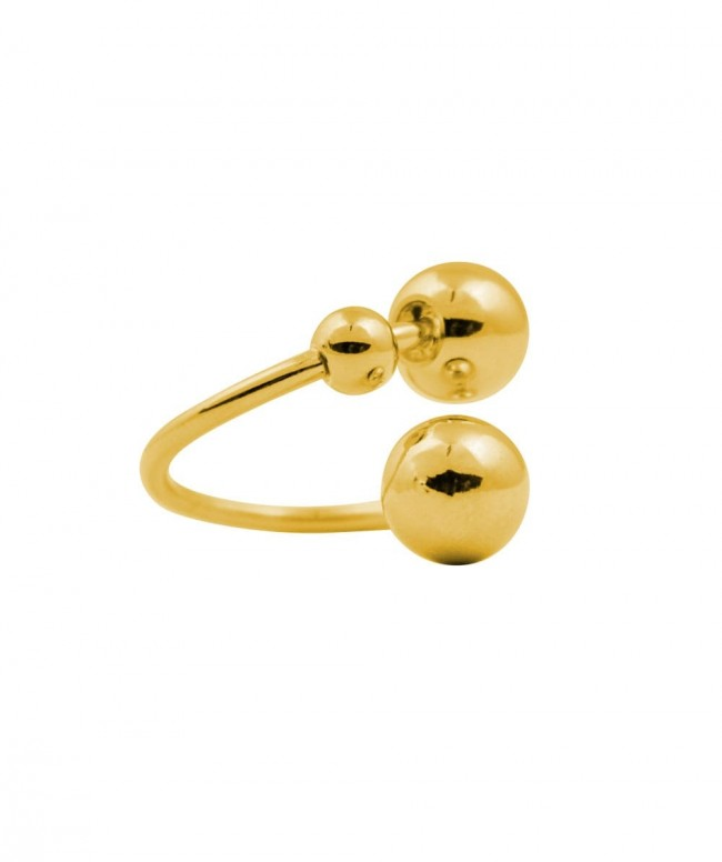 Double Sphere Ring