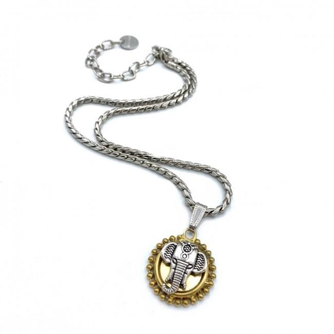 Small Elephant Necklace