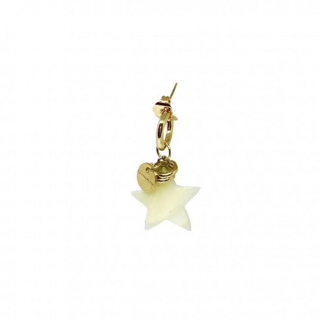 Cerchio singolo 1 cm Stella madreperla