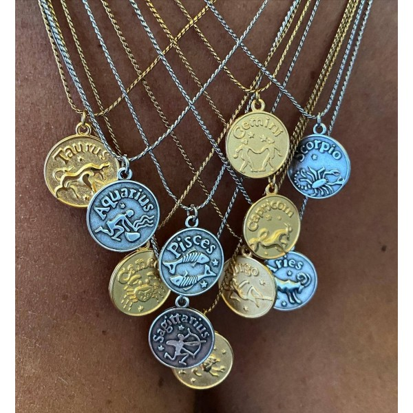 Essential Zodiac Necklace
