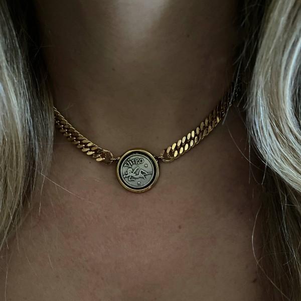 Small Zodiac Groumette Necklace