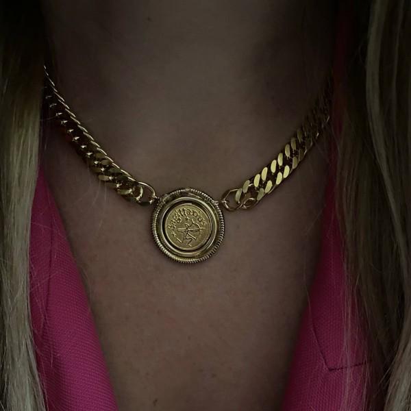Zodiac Groumette Necklace