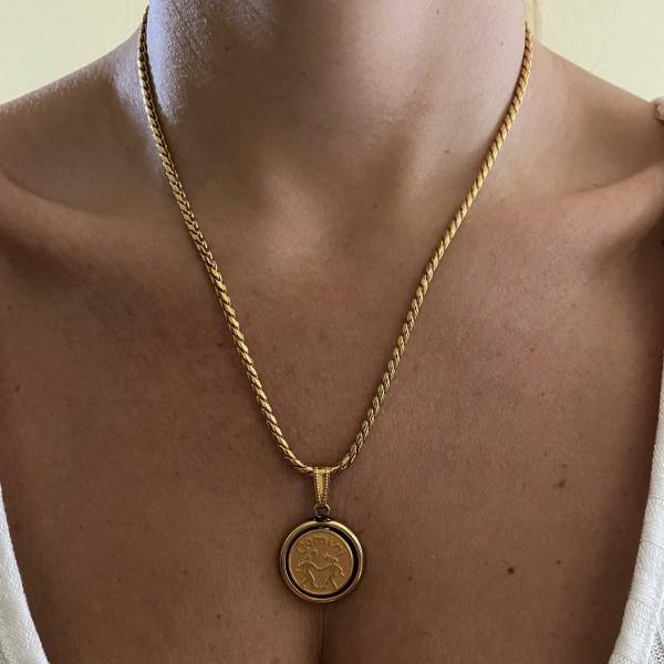 Zodiac Braid Necklace