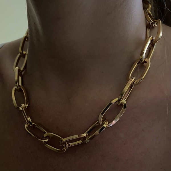 Square XL chain Necklace