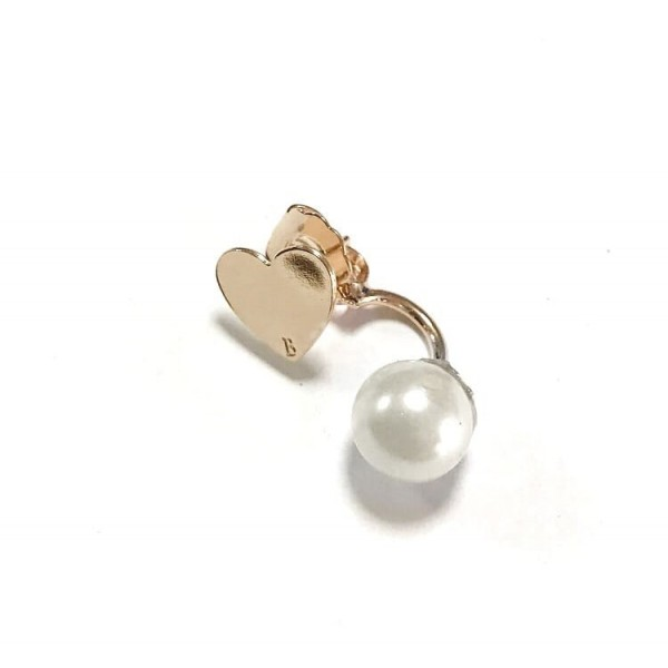 Piercing perla+charm