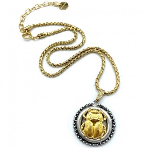 Big Scarabeo Necklace