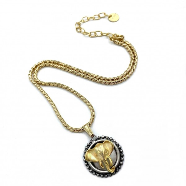 Medium Elephant Necklace
