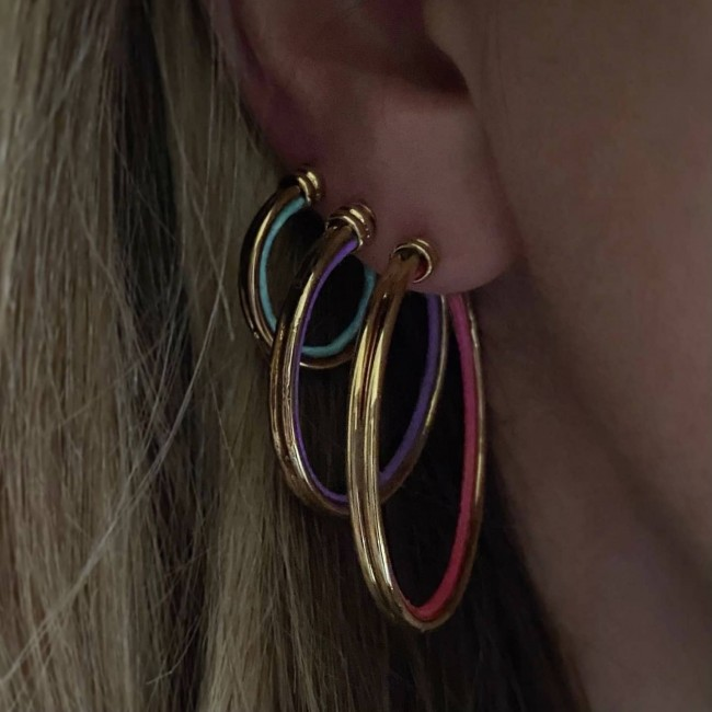 Wire Hoops 2 cm