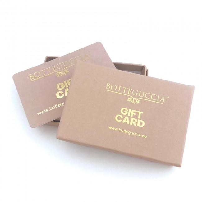 GIFT CARD BOTTEGUCCIA IN BOX - il prezzo parte da: