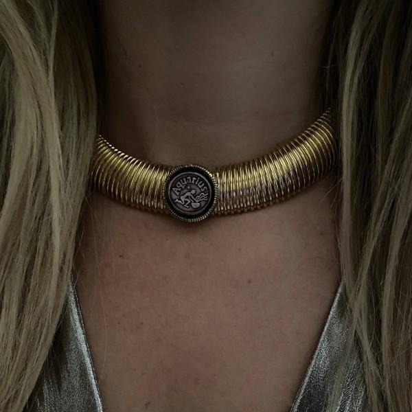 Zodiac Cleopatra Necklace
