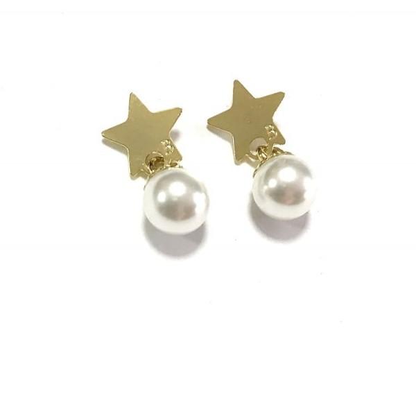 Coppia pendenti mini charms+perle