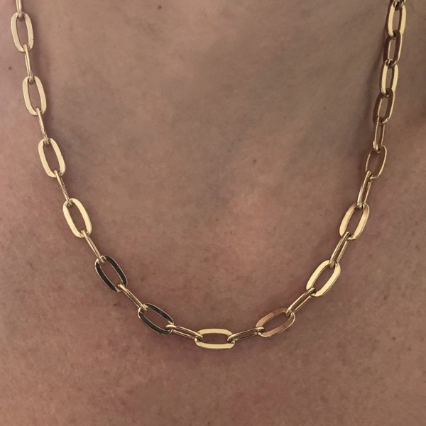 Square II chain Necklace