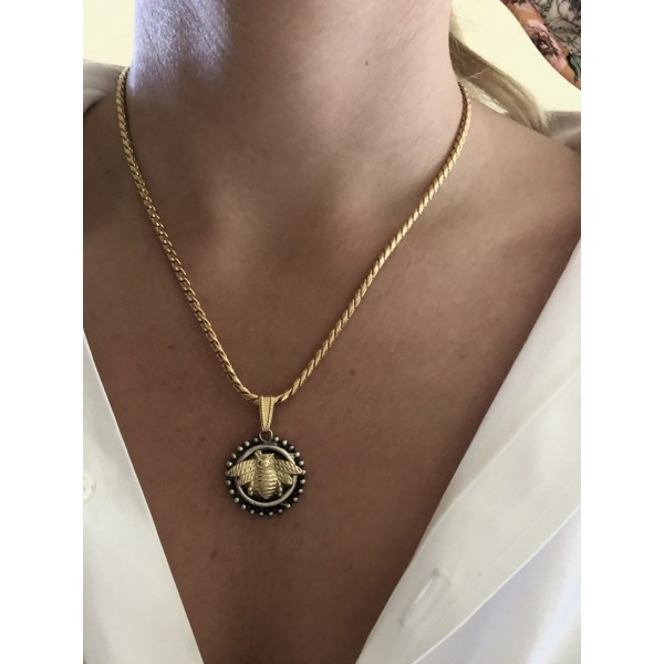 Small Honey Necklace